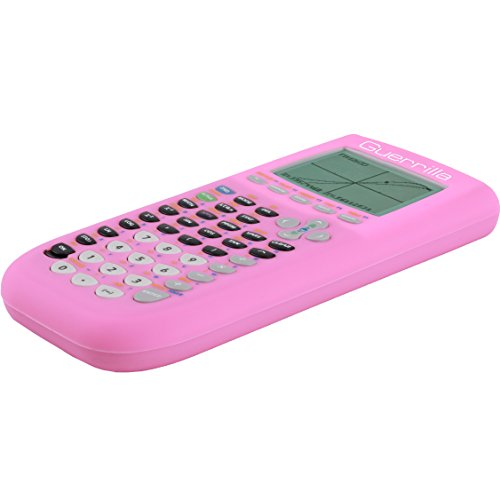 Guerrilla Silicone Case for Texas Instruments TI-84 Plus Graphing Calculator, Pink Photo #3