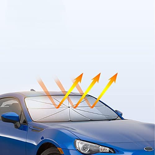 Parasole por auto por parabrezza Raggi UV Parabrezza para auto Ombrello para auto compatible con A5 Wing Dance sud-orientale, DX3, V3 Lingyue, V5 Lingzhi, DX5, V6 Lingshi, DX7, ecc.