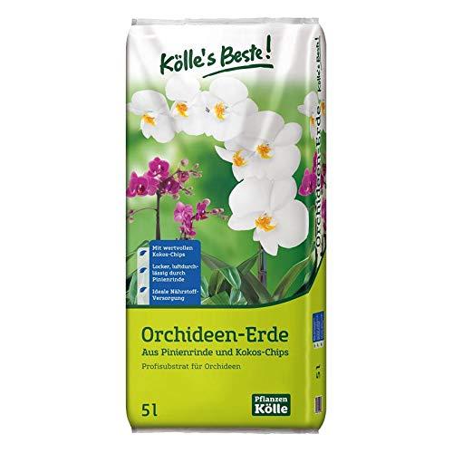 Kölle's Beste! Orchideenerde 5 Liter – Spezialerde für Orchideen mit...