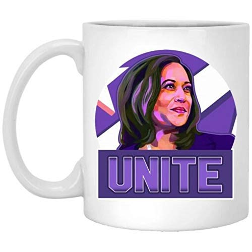 N\A Unite Kamala Harris AKA 2020 Sr. Vicepresidente I 'm Speaking Art Election Taza de café de cerámica de Biden Harris