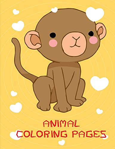 Animal Coloring Pages: An Adorable Coloring Christmas Book with Cute Animals, Playful Kids, Best for Children (Adventure kids, Band 14)