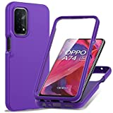 Punbor for Oppo A74 5G/A54 5G Case: with Built in Screen
