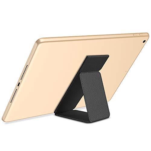 Winhoo per Supporto per Dita per Tablet iPad Finger Holder Grip/Stand Universale per iPad PRO 12.9/11/10.5/9.7, iPad Air 2 3 4, iPad Mini 2 3 4, Samsung Galaxy, Huawei - Nero