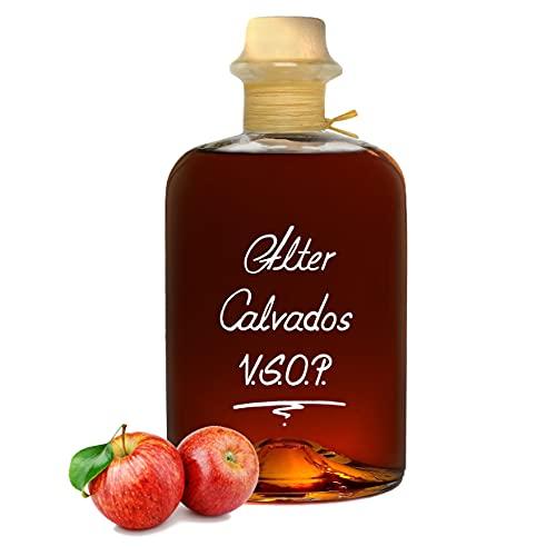 Alter Calvados V.S.O.P. 0,7L Aromatisch & sehr weich Apfel Brand Normandie 40% Vol.