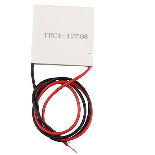 Módulo de placa de refrigeración TEC1–12708–Disipador de calor termoeléctrico Peltier 12V 77W
