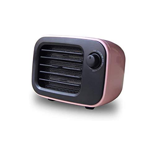 Calentador eléctrico, Calentador de ventilador Calentadores eléctricos Mini oficina de escritorio Mini oficina Handy Fast Power Guardar Calentador Portátil Smart Warmer for Winter PTC Calefacción de c