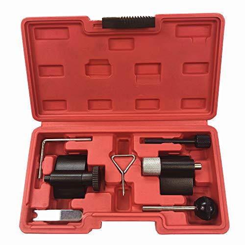 BestsQ Diesel Engine Timing Cam Camshaft Alignment Crank Locking Tool Set for VW Audi SEAT Skoda with 1.9L 2.0LTDI PD DOHC Engine