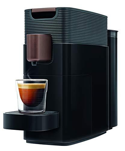 K-fee One Kaffeekapselmaschine, (1455 Watt, 0,8 Liter Wassertank, Farbe Schwarz-Kupfer)