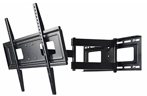 VideoSecu Mount LCD LED Articulating Single Arm TV Wall Mount Bracket for Most LG 32-65 inch TV MW365BBM7 BR5