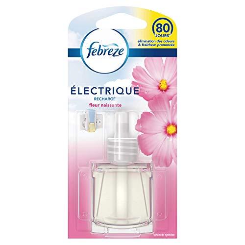 Febreze Recharges 3Volution pour Diffuseur Électrique, Fleur Naissante, 20 ml