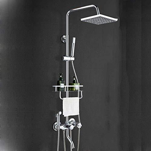 JTSGHRZ Sistema de Ducha Baño Mezclador termostático de latón Válvula de Ducha...