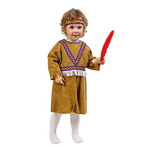 Kleid Indianerin Freche Taube Kinderkostüm Größe 98/104