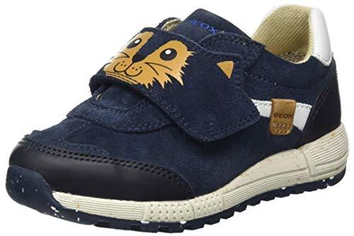 Geox B ALBEN Boy E, Sneaker Bimbo, Blu (Navy), 22 EU