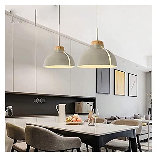 SHUHD Luz Colgante de Aluminio Minimalista nórdico, araña de Mesa de Comedor macarrones creativos, Barra Personalizada Cafetería Habitación Moderna Iluminación Moderna (Color: Azul) (Color: Negro)