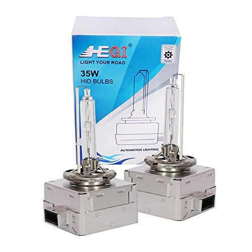 D1S Bi Xenon Brenner Metall Basis-Hid Xenon Scheinwerferlampe 12V 35W 6000K Ersatzlicht -2 Yrs Garantie 2 Stück