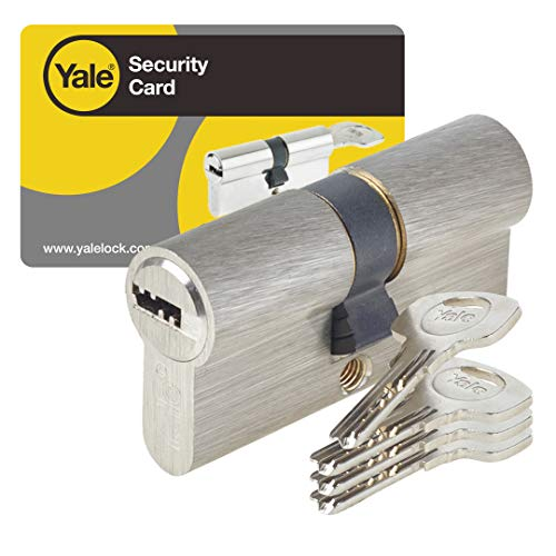 Yale YC1000+ - Cilindro di serratura, YC1000+ DB 40X40 NI