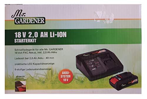 EM Mr.GARDENER Starterkit 2,0 Ah PXC...