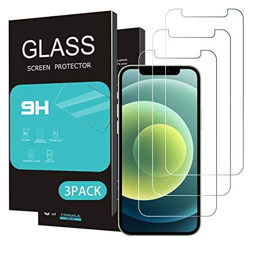 Homemo Glass Screen Protector Compatible iPhone 11/iPhone XR 6.1 Inch 3 Pack Tempered Glass 2.5D Edge Anti Scratch Work Most Case