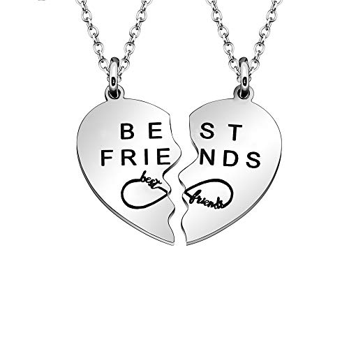Collana Best Friends per 2 : un regalo per le amiche del cuore