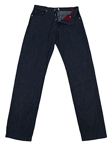 Kiton Dark Blue Jeans - Full - 32/48