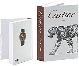 Decorative Fashion Home Fake book, Cartier box book