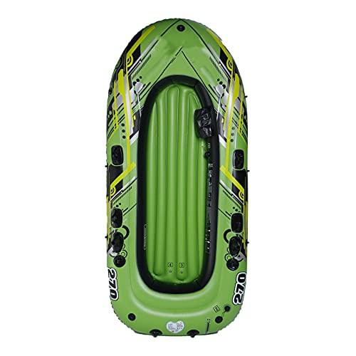 LANGTAOSHA Botes De Kayak Inflables con Válvula Doble, Kayaks De Turismo De Pesca para Adultos, Pesca, Canoa De 2/3/4/5 Personas, Bote De Pesca, Juego De Bote Inflable,2 Person