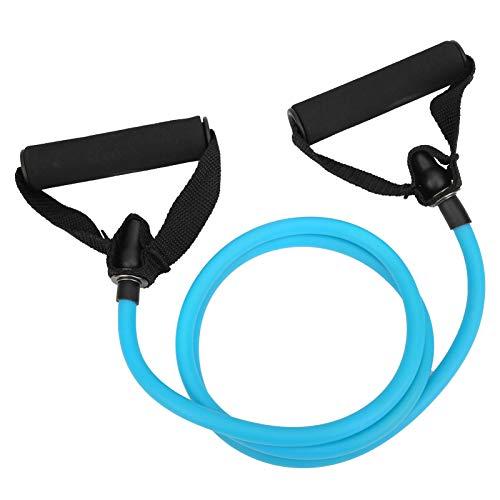 DFKEA Cuerda elástica para Tirar de una Palabra-Yoga Cuerda para Tirar Cinturón de Resistencia Cuerda elástica Brazo Equipo de Entrenamiento de Fuerza Fitness