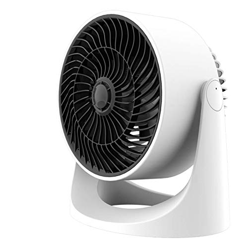 Tredy Air Circulator Fan,Small Quiet Turbo Desk Fans with Base-Mounted Controls,3 Speed Cooling Fan,Floor Fan for Whole Room Home Bedroom Office