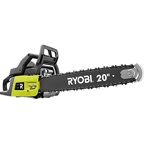 RYOBI 20 in. 50cc 2-Cycle Gas Chainsaw with Heavy-Duty Case