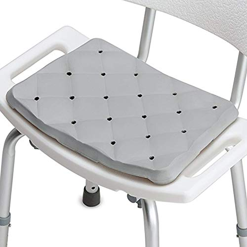 DMI Bath Seat Foam Cushion for Transfer Benches, Shower Chairs, Stadium Seats or Kneeling Pad, Waterproof and Slip-Resistant, 1.3 Inches Thick