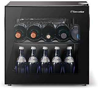Inventor Vino Α+, Nevera para Vinos de Compresor con 43 litros de Capacidad para 14 Botellas