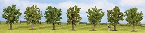25090 7-piece set of fruit trees Height 80 mm by Noch