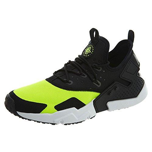 Nike Men's Air Huarache Drift Fitness Shoes, Multicolour (Volt/Black/White 700), 9 UK