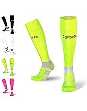 Calze a compressione di alta qualità per uomo e donna, protezione per caviglia e metatarso, cuciture piatte, per corsa, ciclismo, jogging, recupero sanguigno, volo