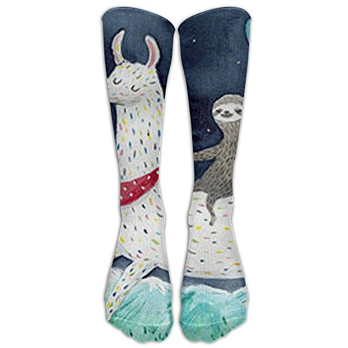 FUNINDIY Octopus Pink Art Painting Fashion Athletic Socks for Men/&Women All Sport Holiday