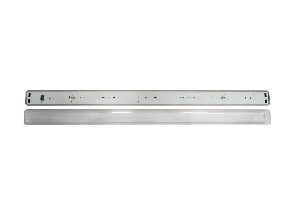 Fenoplástica - Pantalla Estanca 8685, G13, 44 watts, Gris: Amazon.es: Iluminación