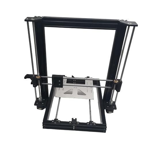 Alta qualità Spedizione gratuita Russia/Corea del Sud/Tailandia!AM8 3D Printer Extrusion All Metal Frame Full Kit per l\'aggiornamento Anet A8 (Color : Black Extrusion, Size : With Motors)