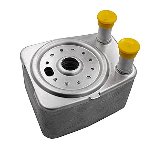 MAIOPA Práctico Enfriador de petróleo para VW Passat Jetta Golf EOS GTI Touareg para Audi A3 A5 A6 Q5 038117021E Accesorio