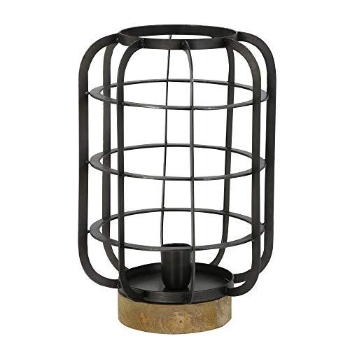 Light & Living WTD SUZE - Lámpara de Mesa (26 x 38 cm, Alambre), diseño Antiguo