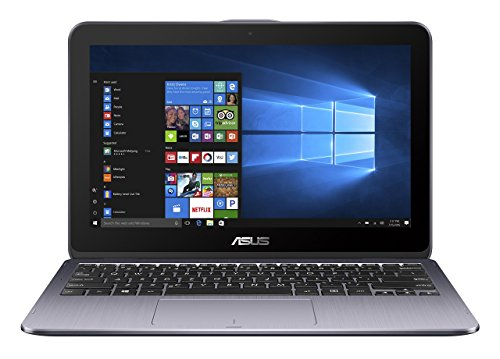 ASUS TP203NA-WB01T Vivo Book Flip 12 Thin and Light 2-in-1 Convertible Touchscreen Laptop Intel Dual-Core Celeron N3350 4GB RAM, 500GB HDD, Stay Grey (Renewed)