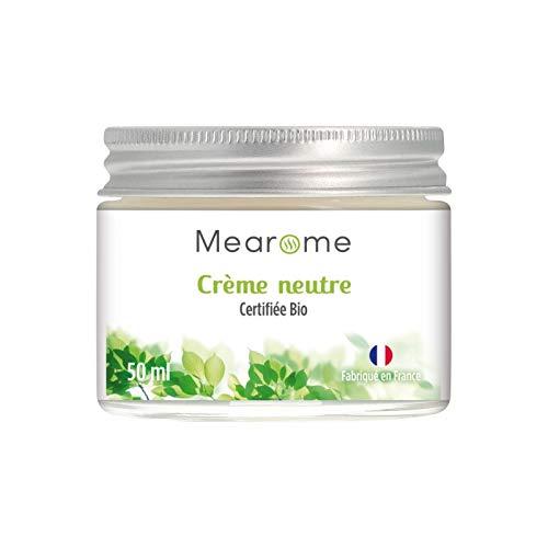 Crème Neutre BIO - Fabriqué en FRANCE - Base de Préparation pour Soins et Cosmétiques - 50 ml - Mearome