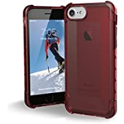UAG iPhone 8 / iPhone 7 / iPhone 6s [4.7-inch screen] Plyo Feather-Light Rugged [CRIMSON] Military Drop Tested iPhone Case