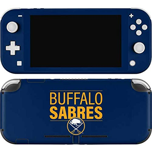 Skinit Decal Gaming Skin Compatible with Nintendo Switch Lite - Officially Licensed NHL Buffalo Sabres Lineup Design