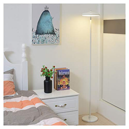 ZGP-LED Luces de piso Lámpara de pie Salón Dormitorio Estudio de Protección del ojo del LED soporte de la lámpara moderna simple de los países nórdicos piso lámpara de mesa de tres colores LED de aten