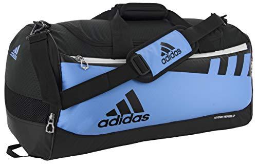 adidas Unisex Team Issue Small Duffel Bag, Collegiate Light Blue, ONE SIZE