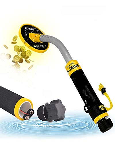 KECOP 750 Underwater Metal Detector with Vibration and LCD Detection Indicator - PI Waterproof Probe Pulse Induction Technology Metal Detector Handhel