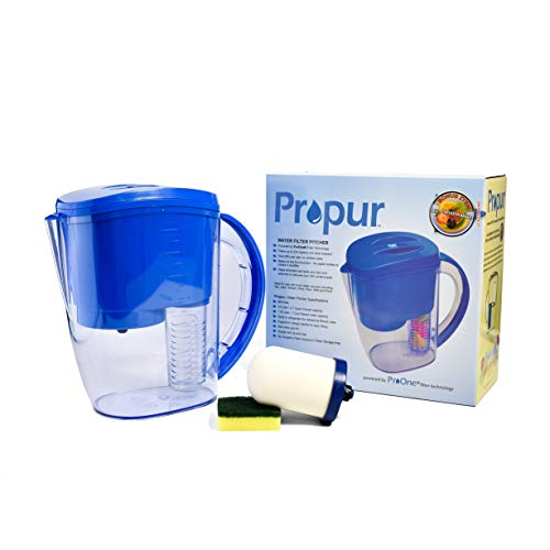ProPur Water Filter Pitcher with Fruit Infuser