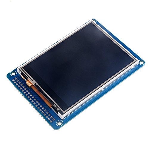 ILI9341 3.2 inch TFT Display Module LCD Screen 320x240 Resistive Touch Panel with SD Card Slot for Arduino