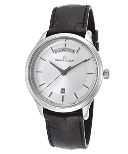 Maurice Lacroix Lc1227-Ss001-131 Les Classiques - Reloj de pulsera para hombre, color negro