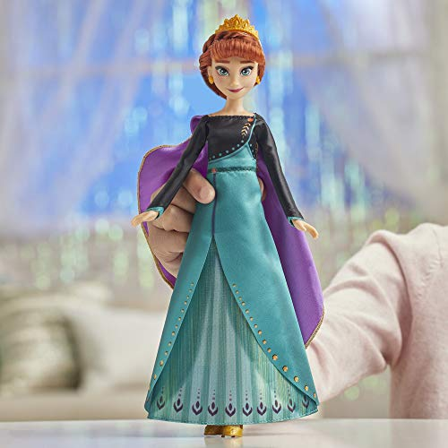 Disney Frozen Musical Adventure Anna Singing Doll, Sings 'Some Things Never Change' Song from 2 Movie, Anna Toy for Kids